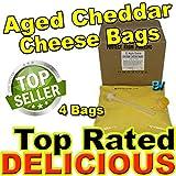 #8: Gold Medal El Nacho Grande Aged Cheddar Bag Cheese - 4 Bags - 140 oz. Each