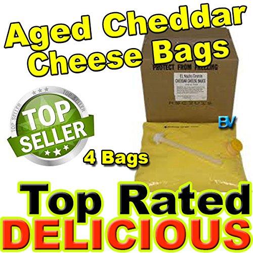 Gold Medal El Nacho Grande Aged Cheddar Bag Cheese - 4 Bags - 140 oz. Each by Gold Medal El Nacho Grande