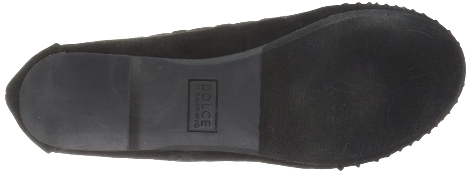 Dolce by Mojo Moxy Women's Akachi Ballet Flat Conversion B06XHBG73L 7.5 UK/US Size Conversion Flat M US|Black Suede 8cd40b