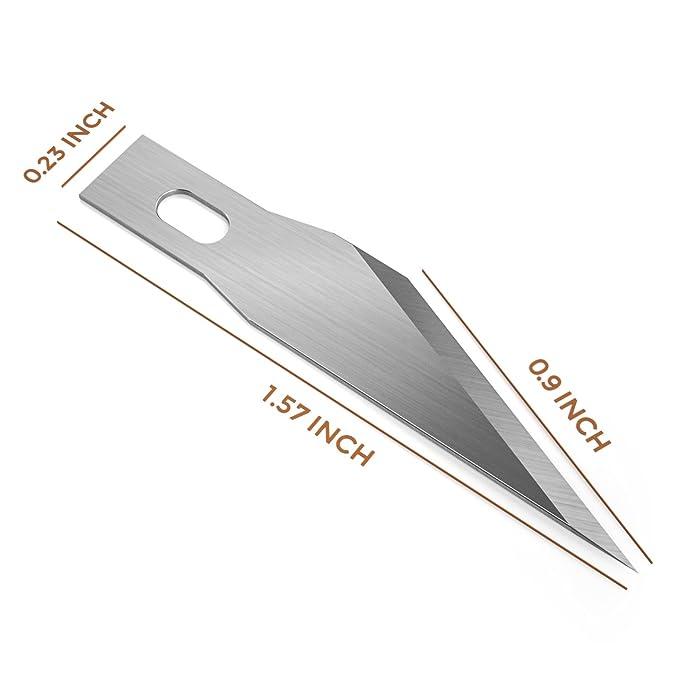 Amazon.com: nicpro 120 pcs Hobby – Juego de cuchillas, Excel ...