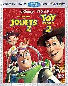 Histoire de Jouets 2 [Blu-ray 3D + Blu-ray + DVD + Digital Copy]