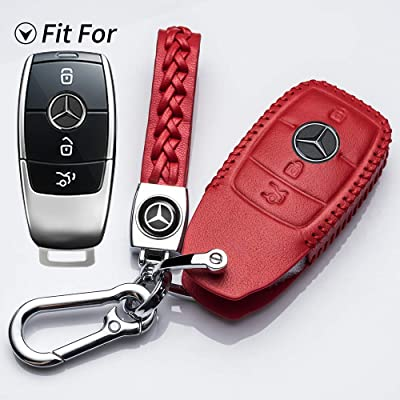 Hey Kaulor Suit for Mercedes Benz Key Fob Cover, Premium Fashion Appearance Key Case Cover Mercedes Benz E Class, 2020 up S Class, 2020 2020 W213 Keyless Smart Key Fob: Automotive
