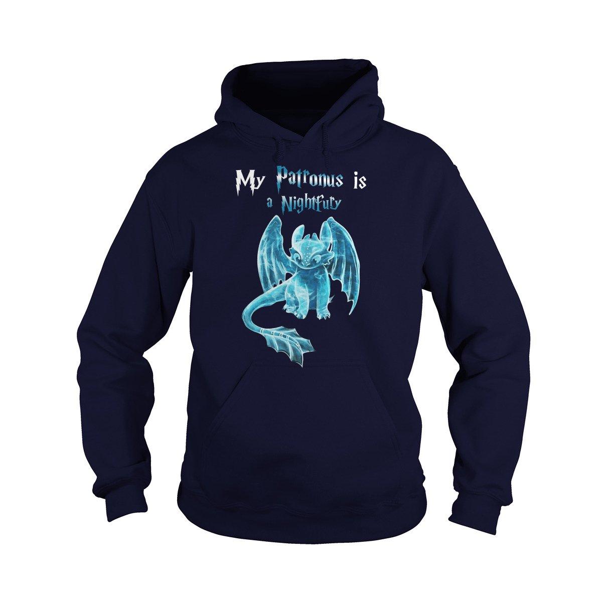 Sleeky Patronus Nightfury T-Shirt