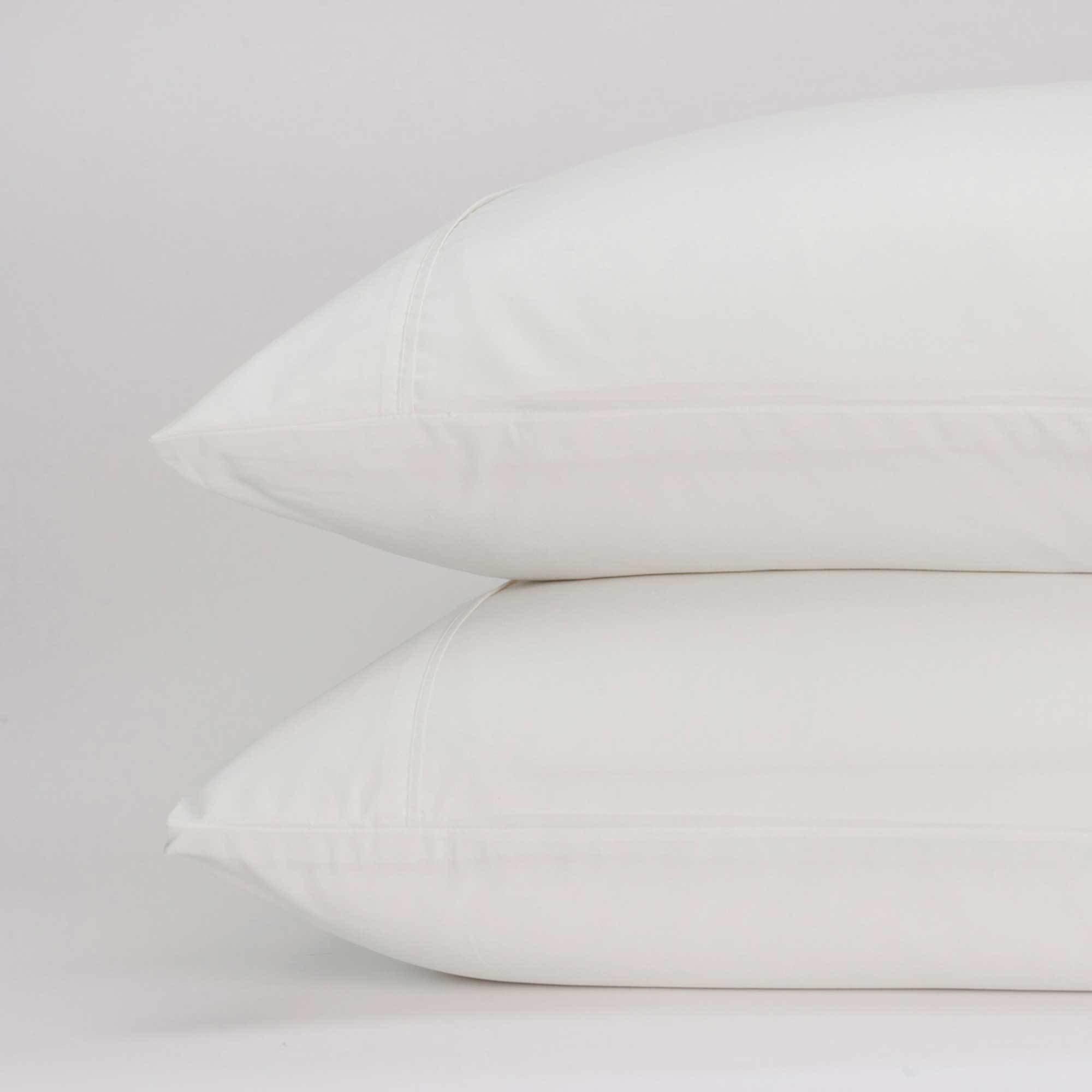 Jennifer Adams Home Classic Eternal Pillowcase Set (Standard, Ivory)