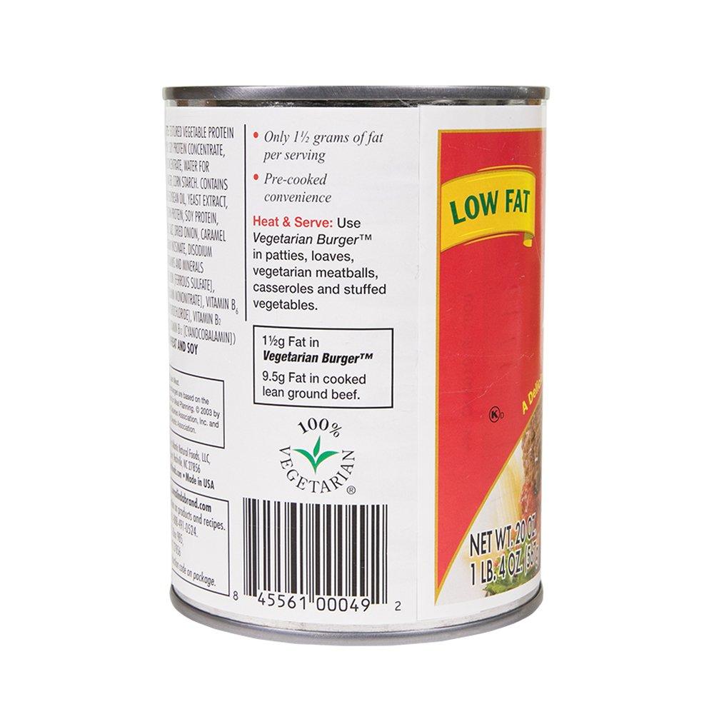 Loma Linda - Plant-Based - Vegetarian Burger (20 oz.) (Pack of 6) - Kosher by Loma Linda (Image #6)