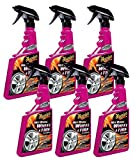 Meguiar's Hot Rims Wheel & Tire Cleaner (24 oz) - 6 Pack