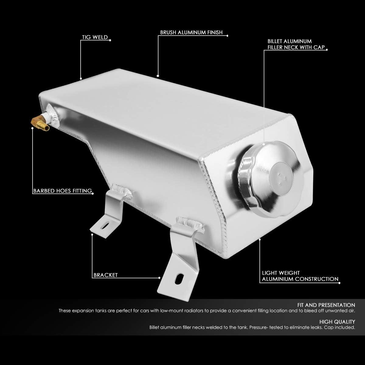 ALUMINUM RADIATOR COOLANT RECOVERY OVERFLOW TANK//BOTTLE FOR 81-95 WRANGLER//CJ5