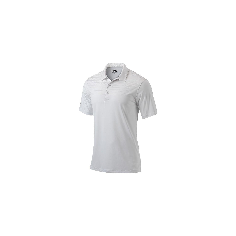 Ping hoja de prendas de vestir de hombre Polo, Blanco: Amazon.es ...