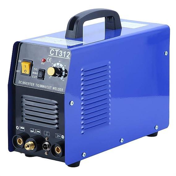 Hehilark Soldadora Durable CT312 Clase de Protección IP21 Máquina del Cortador del Plasma de la Eficacia del 80% con la Función de la Refrigeración por Aire ...