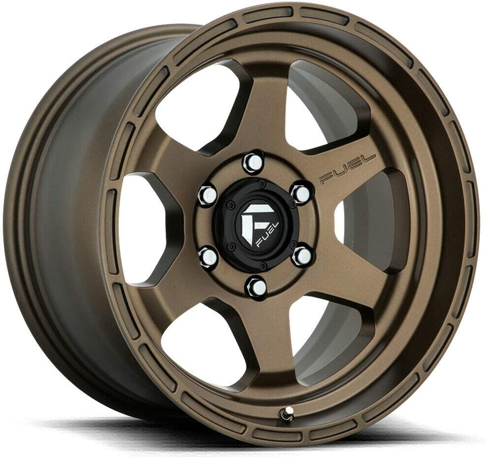 17 x 9. inches //6 x 139 mm, -12 mm Offset Fuel Offroad D666 SHOK BRONZE Wheel tpms