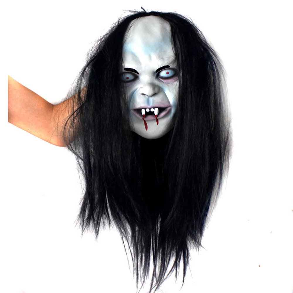 LDENG Scary Devil Ghost Mask with Blood for Masquerade Party Halloween Cosplay Mask