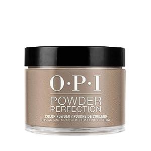 OPI Powder Perfection, Brown Dipping Powder Nail Color