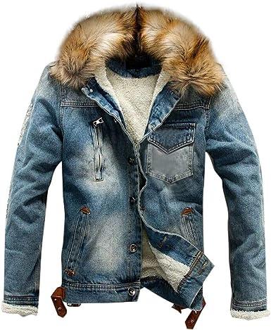 Chaqueta Hombre Invierno Cazadoras Hombre Parka con Capucha Jacket Abrigo de Algodón Cazadora Chaqueta de Abrigo Casual Chaqueta Térmica de Cuero Abrigos - Logobeing Chaquetas K409: Amazon.es: Ropa y accesorios