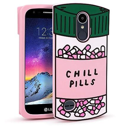 Amazon.com: LG K8/K10 - Funda para píldoras, diseño de ...