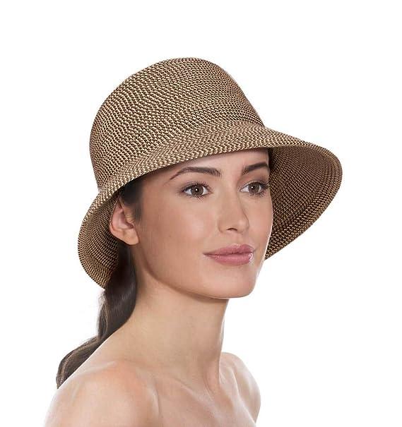 375c8fbc159e6 Eric Javits Luxury Fashion Designer Women s Headwear Hat - Squishee Bucket  - Bark  Amazon.ca  Clothing   Accessories