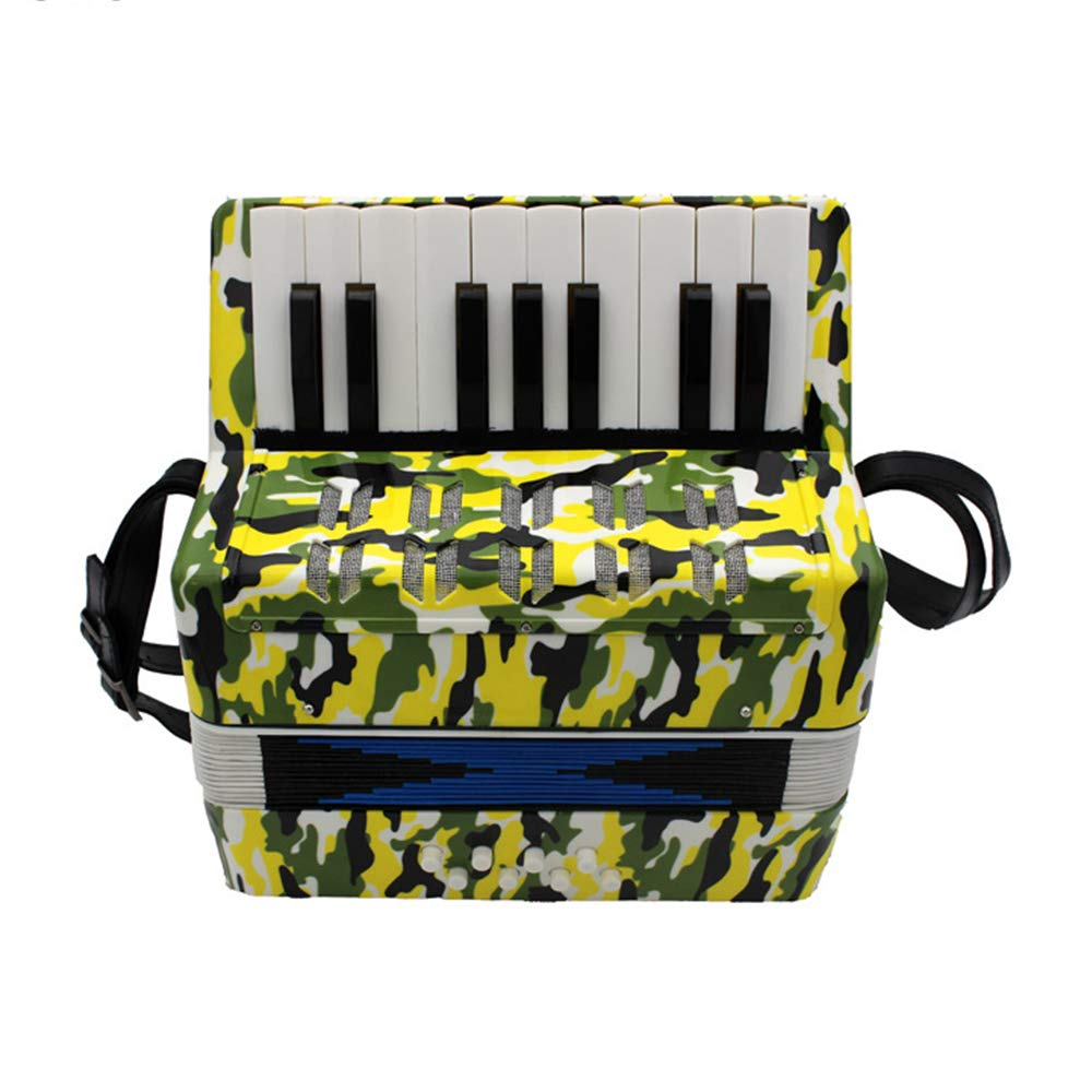TECHLINK Accordions Toy Musical Education Musical Instrument Portable 17 Keys 8 Bass Promotes Childern Accordion Children's Gift by TECHLINK (Image #2)