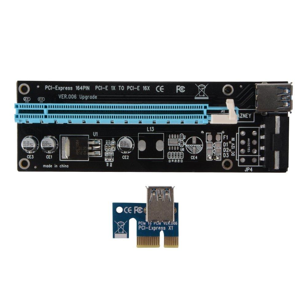 XCSOURCE® 1pcs PCI-E 1X a 16X Máquina Minera Extender Mejorado ...
