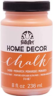 product image for FolkArt Home Decor Chalk Furniture & Craft Paint in Assorted Colors, 8 ounce, Monarch