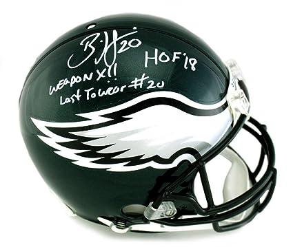 73bdf877134 Brian Dawkins HOF Autographed Philadelphia Eagles Full-Size Football Helmet  BAS Football-NFL