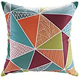 Plutus Brands MF1789 Outdoor Patio Pillow, Mosaic