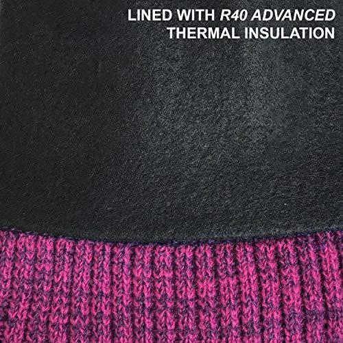 Marl Manteau R40 Cerise Doublure Molleton Bobble avec Marl Enjoliveur Thermique en RockJock 1SwPFqw