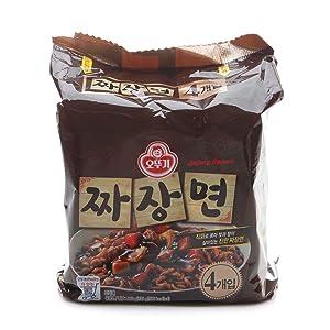 [Ottogi] Jjajangmyeon (Pack of 4) / Korean food/Korean ramen/Jjajangmyeon (overseas direct shipment)