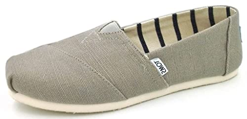 77dea4f0a0d TOMS Classic Morning Dove Heritage Canvas Womens Espadrilles Shoes-3 ...