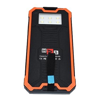 15000 Mah Cargador Solar Portátil Para Smartphone con 2 puertos ...