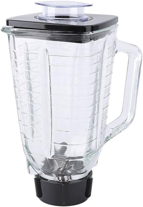 Simplemente plata – Jarra de batidora – 5 taza cuadrado 6 piezas ...