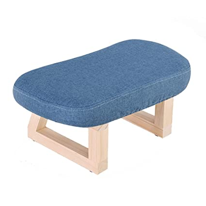 Efficient Fabric Sofa Stool Home Stool Creative Fashion Stool Solid Wood Bench Adult Living Room Coffee Table Stool Square Children Chairs Children Furniture