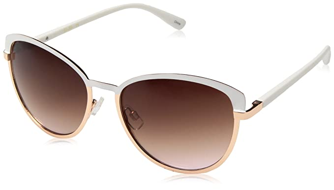 a07c6a6376 Image Unavailable. Image not available for. Colour  Jessica Simpson Women s  J5316 Whrg Cateye Sunglasses ...