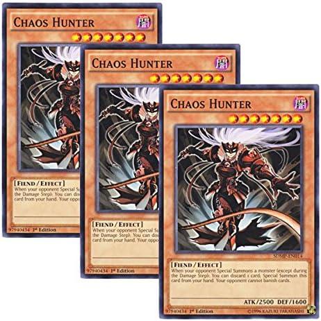 Yugioh Chaos Hunter 1st Edition SDMP-EN014 Common