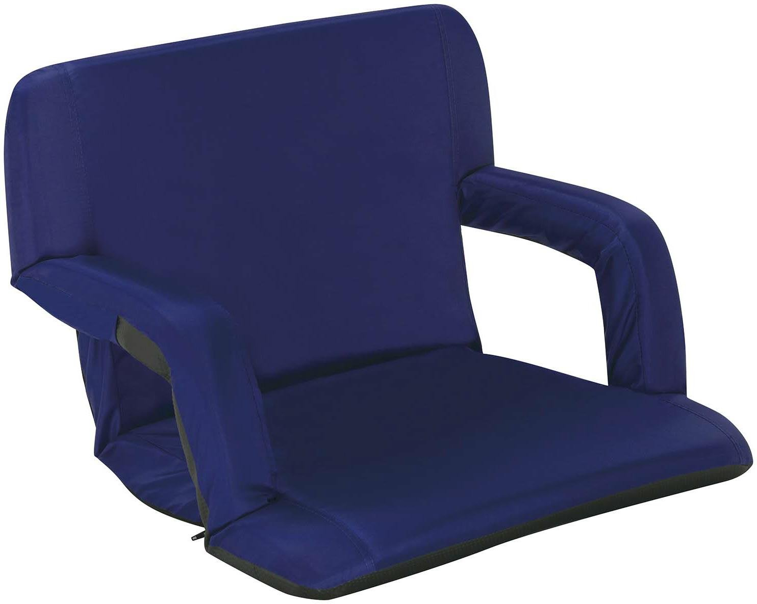 Stadium Seats Product : Naomi home venice portable reclining seat with armrest