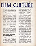 img - for FILM CULTURE no. 48-49 Winter & Spring 1970. Double Issue. book / textbook / text book