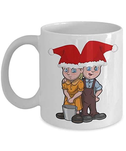 jack and jill with a pail of water christmas 2016 coloring mugs for kid inspirational