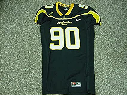 save off 8f49a 1f15c Sam martin Appalachian State Mountaineers 2009 Game Worn ...