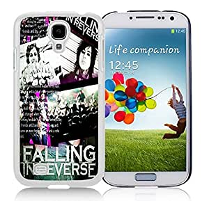New Unique DIY Antiskid Skin Case For Samsung S4 falling in reverse Samsung Galaxy S4 White Phone Case 148