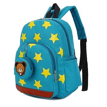 Seasaleshop Mochilas Infantiles Bebé Bolsa PequeñA Bebes Guarderia para niños de 2 a 6 años de Edad Cuatro Colores,32 * 24 * 11cm Chico Chica, ...
