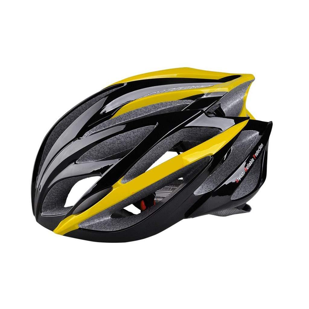 新しいエルメス ヘルメット 黄 マウンテンサイクルヘルメットオフロードバイクヘルメット軽量専門男性女性乗馬ヘルメットバイクレーシングセーフティキャップ ヘルメット B07PYNHZLK B07PYNHZLK 黄, ココカル:4f1e340c --- a0267596.xsph.ru
