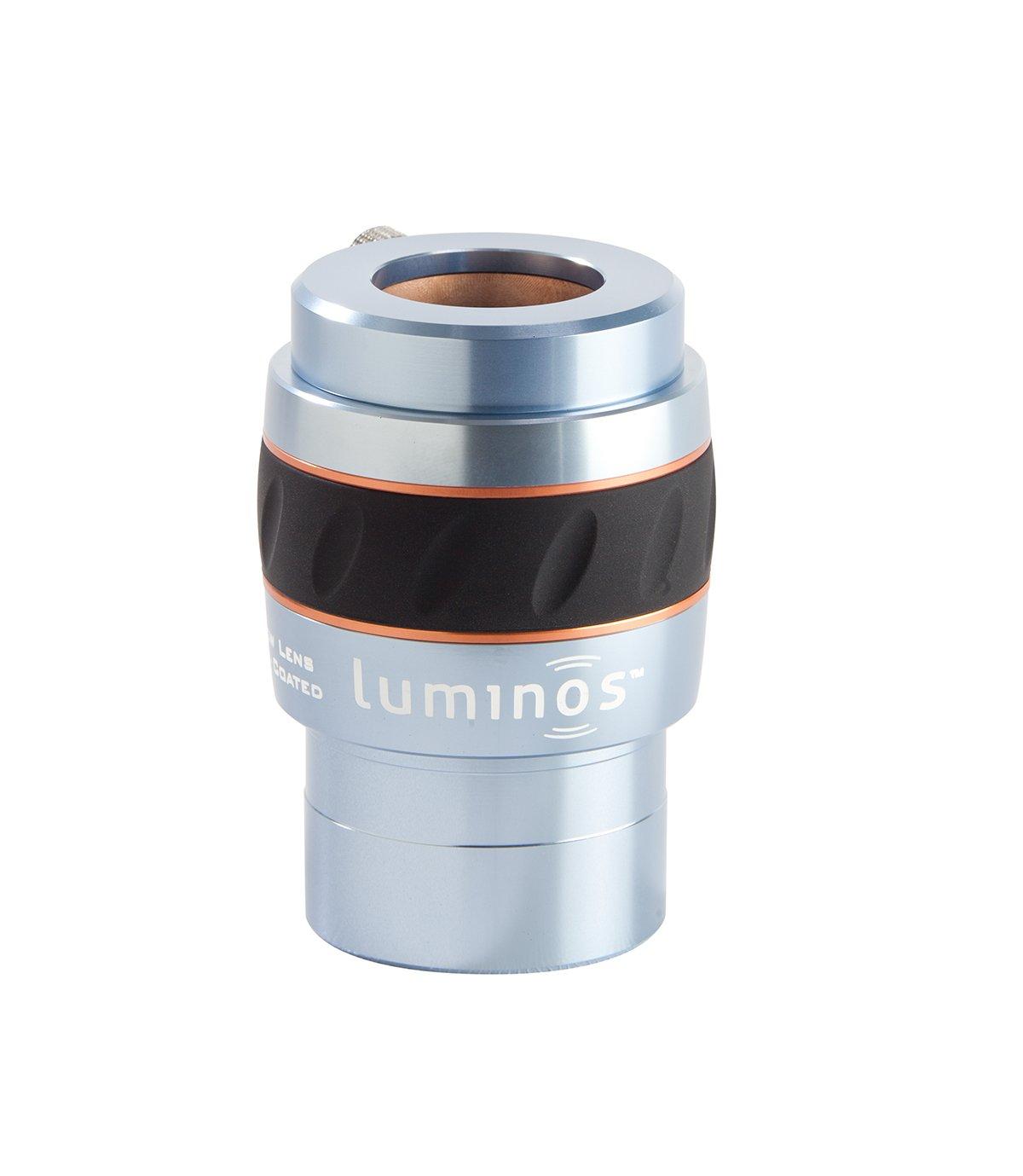 Celestron 93436 Luminous 2-Inch 2.5x Barlow Lens (Silver) by Celestron