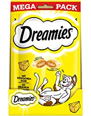 Dreamies Katzensnacks/Klassiker Klassiker, mit Käse, 4 Beutel (4 x 180 g)