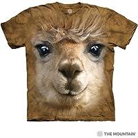The Mountain Unisex-Adults Big Face Alpaca