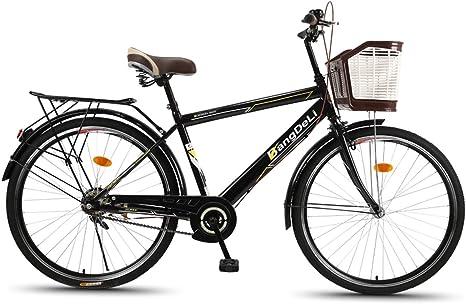 Bicicleta De Ciudad Clásica Bicicleta para Hombre De 26 Pulgadas ...