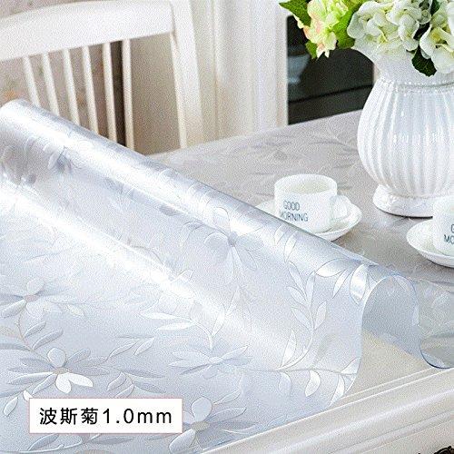 Soft Glas Tischdecke Wasserdicht und Bügeln PVC-Kunststoff transparent Crystal Board Haushalt, Kosmos 1,70 X 120 Cm B078XYTMRT Tischdecken Ausgezeichnetes Handwerk  | Um Eine Hohe Bewunderung Gewinnen Und Ist Weit Verbreitet Trusted In-und