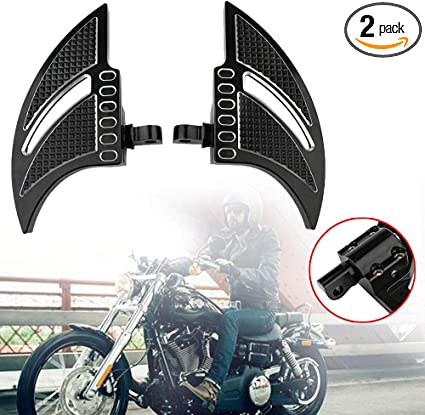 Motorcycle Passenger Highway Foot Pegs Harley Davidson Dyna Sportster Softail