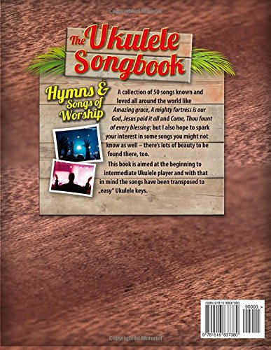 Amazon The Ukulele Songbook Hymns Songs Of Worship