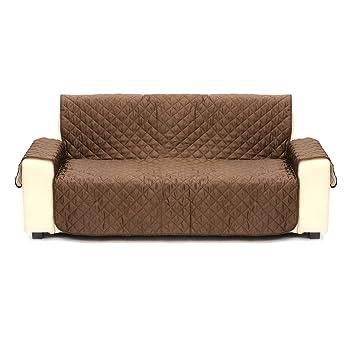 SAFETYON Funda de sofá para perro, gato, fundas de zapatillas reversibles, protector de muebles acolchado, ...