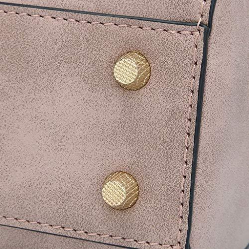 PU sauvage main Messenger petit Sac Pink Bag rétro sac à Sac femme Sac bandoulière à Lxf20 fwUT4Eq4