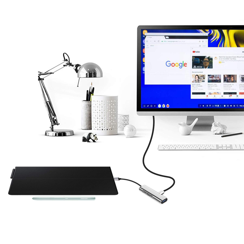 44574c422db Amazon.com: USB Type-C to 4K HDMI Adapter DeX Staton & DeX Pad Alternative  for Samsung Galaxy S10/S9/S8Plus/Note8/Note 9/Tab S4 Deskop Experience,Portable  ...