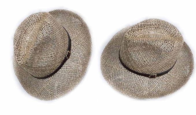 comprare a buon mercato nuovo stile di vita migliori prezzi Generico Cappello Erba Rete Modello Borsalino Elegante Cerimonia ...